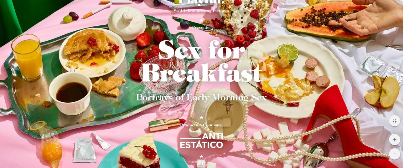 Photographers Paloma Rincón and Pablo Alfieri Serve Up Sex for Breakfast