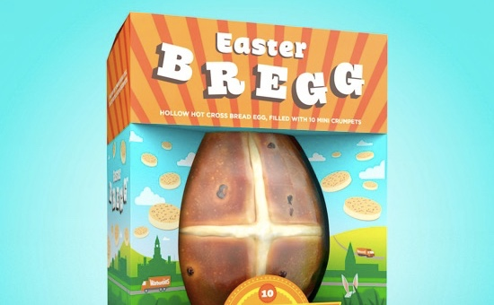 Warburton's Release Brand New 'Easter Bregg' in World First