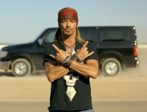 Bret Michaels Brings Some 'Tough Love' to 80's Classic for Nissan