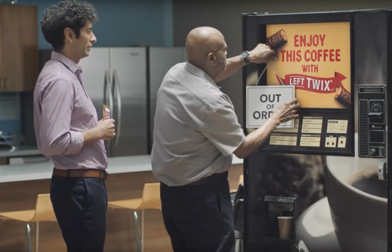 Left Twix Trumps Right Twix in BBDO New York's 'Out of Order' Spot
