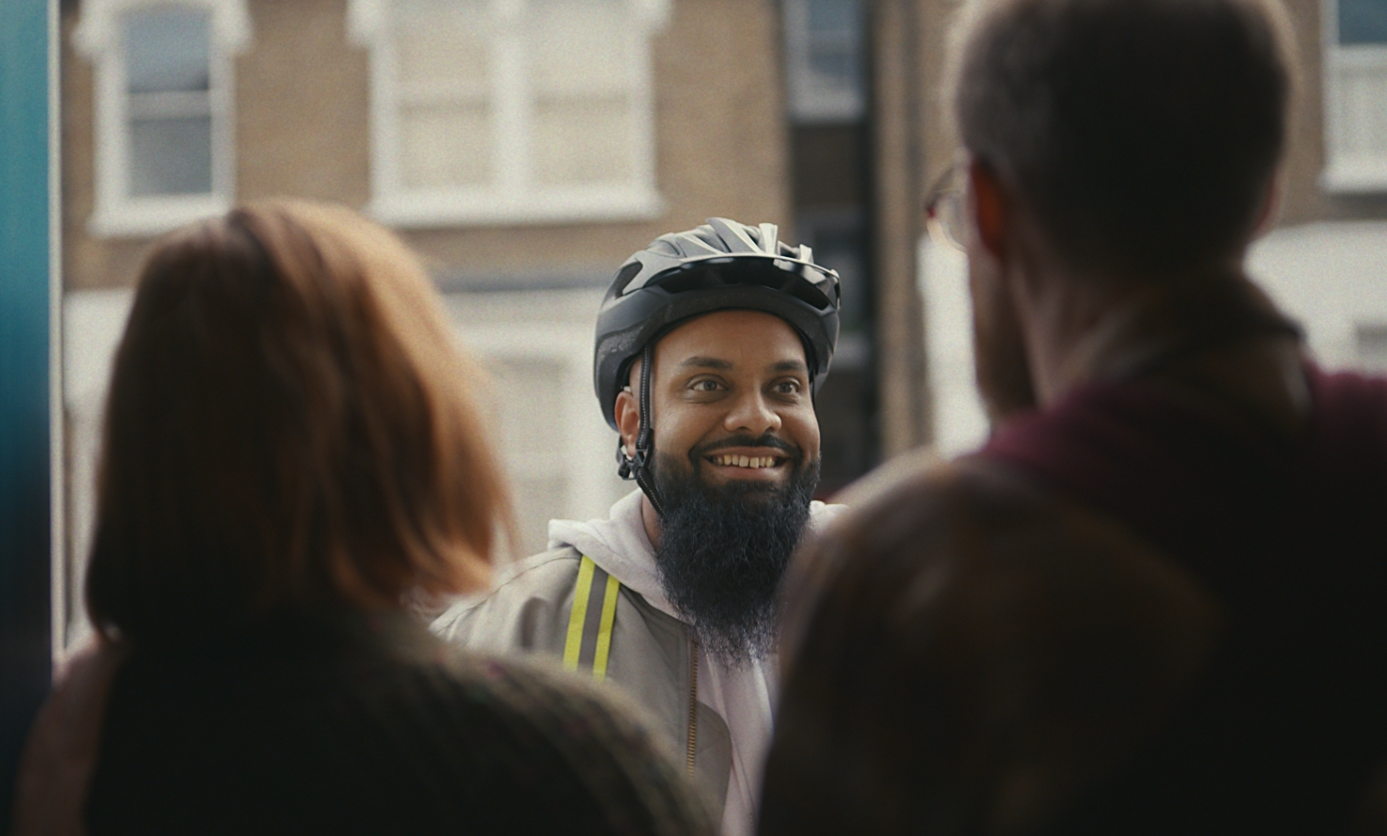 Comedian Guz Khan 'Brings It' in Mother's Campaign for Uber Eats