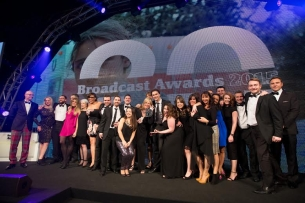 ENVY Wins 'Best Post Production House' at Broadcast Awards