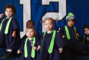 Seal Celebrates Super Bowl Babies with an All-singing Super Bowl Choir