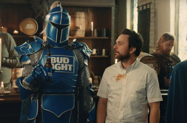 We Thought The Bud Knight Was Dead But Then He Turned Up in Two Tide Ads