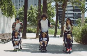 Skateboard Buggies & Dancing Toddlers Feature in New Jax Jones Promo