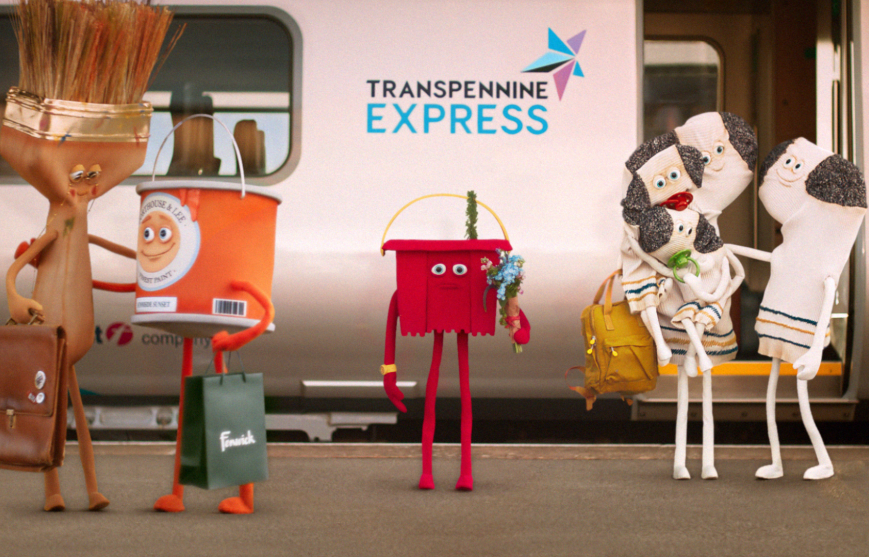There's Bucket-Loads of Charm in TransPennine Express' Latest Campaign