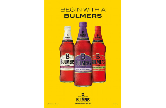 Bulmers Hire Space to Launch New Flavours
