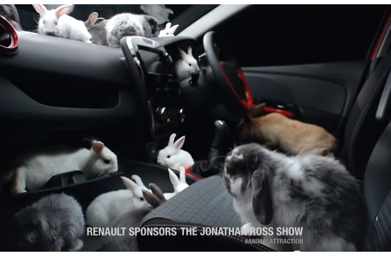 Publicis London's 'Animal Attraction' for Renault