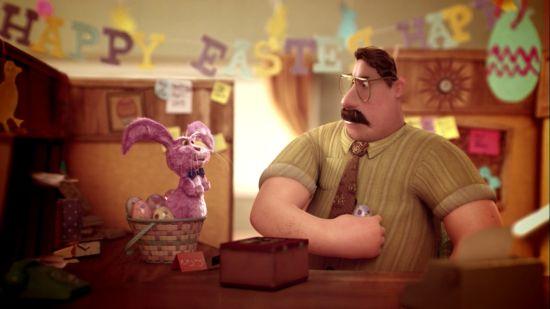 """Man Battles Bunny In MPC NY's """"Sunny And Steve"""" Animated Short"""