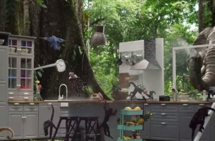 Bucks Music Is Up to Monkey Business for Mother's New IKEA Spot
