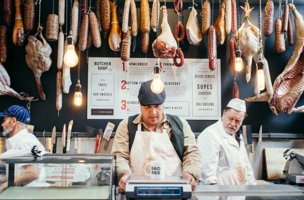 Amazon Sets up Shop in LA with Butcher and Deli Promo for The Boys