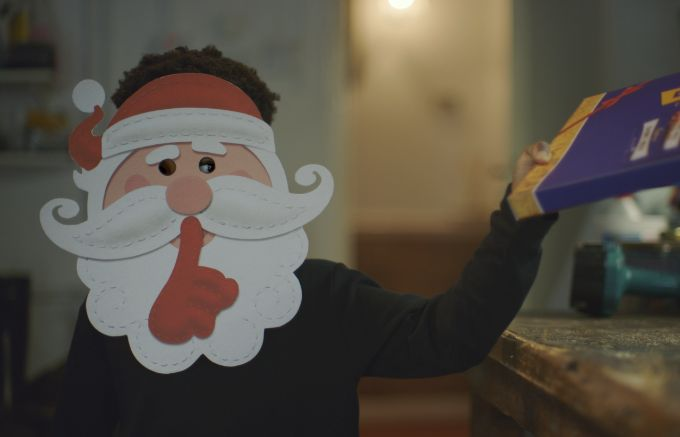 Secret Santas Roam the Town in VCCP's Cadbury Christmas Ad