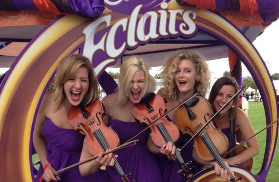 Musical Interpretation of Cadbury Eclairs