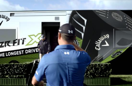 Brickyard VFX Goes Long for Callaway Golf
