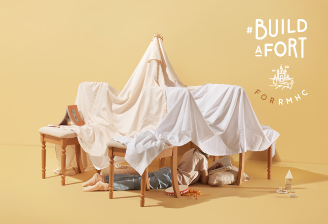 RMHC New Zealand's Charity Campaign Encourages Kiwis to #BuildAFort for Families in Need