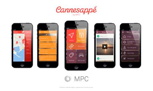 MPC's Cannesappé Cannes App is Back