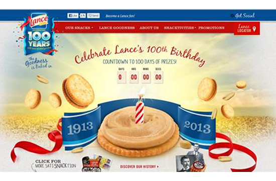 BFG Adds Crunch for Lance's 100th Bday Launch
