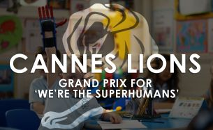 Blink Wins Grand Prix at Cannes Lions for 'We're The Superhumans'