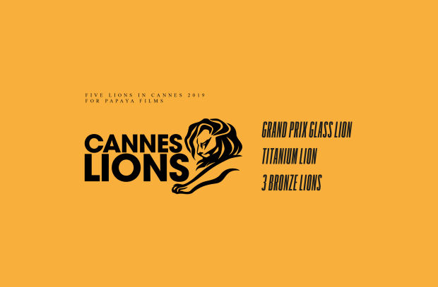 Papaya Films Swoops the 2019 Cannes Lions