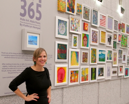 Cutters' Kathryn Hempel Launches 'Make Art. Make Peace' Exhibition