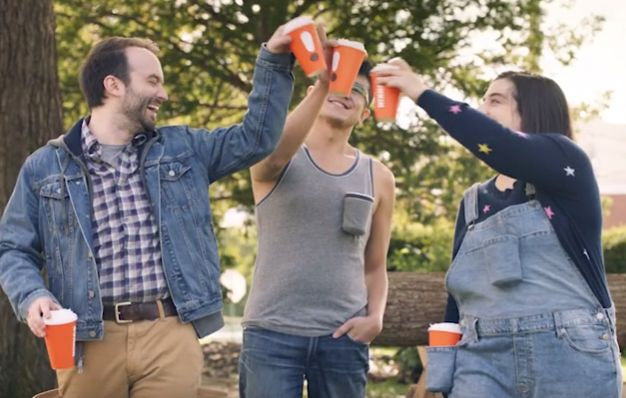 New Dunkin' Campaign Features 'Cappu-Chinos' and 'Americano-Veralls'