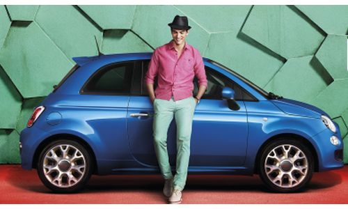 Krow Kicks Off Summer With a Trendy New Look For FIAT