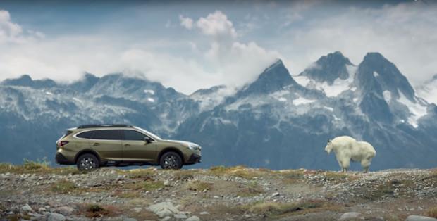 Subaru Pitches New Car as the G.O.O.A.T. in New Campaign