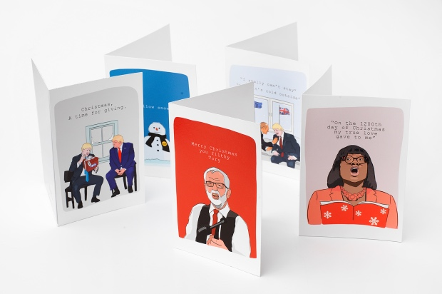 Check Out these Christmas Cards for the Political Nerd in Your Life