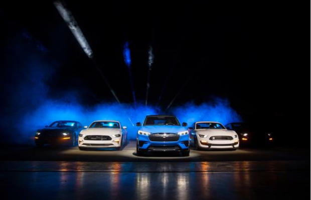 Ford Mustang Gets an Electric Makeover