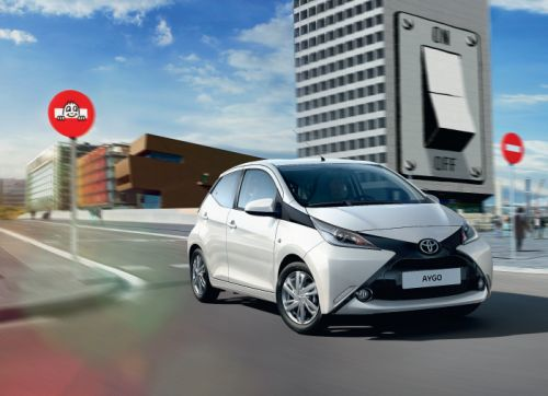 Saatchi Design Brings Its Playful Twinge to Toyota's Aygo Brochure