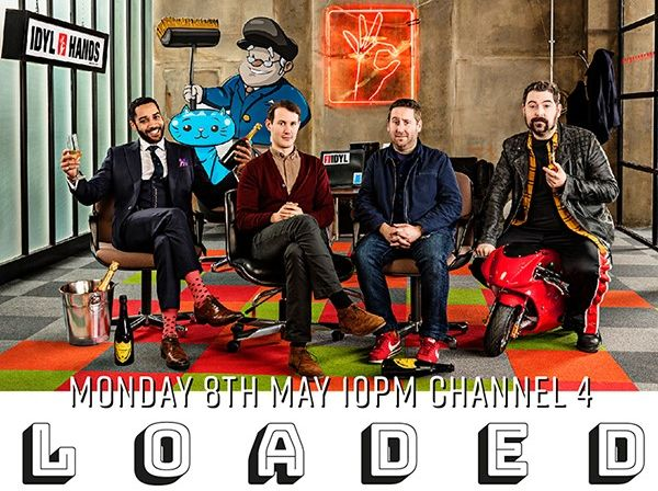 Manners McDade's Jack C Arnold Scores Channel 4 Comedy 'Loaded'