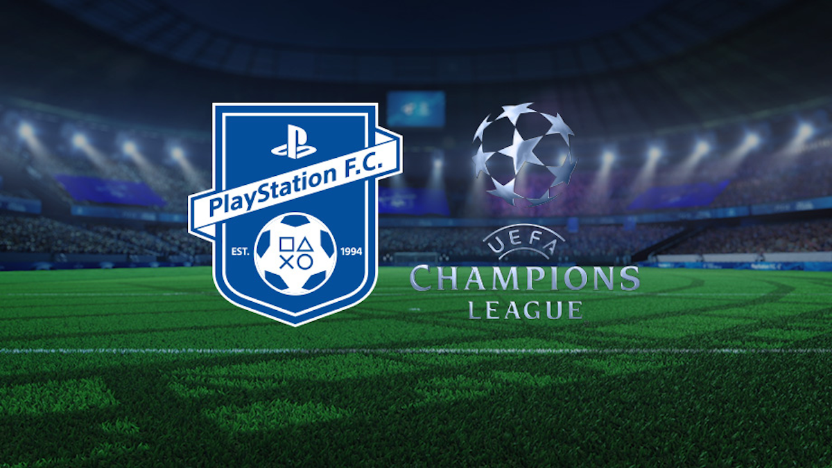 Playstation's UEFA Champions League Idents Fuse Gaming and Real Football