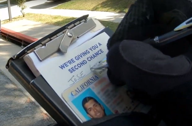 Police Departments Give Drivers 'Second Chances' to Raise Awareness for Organ Donation