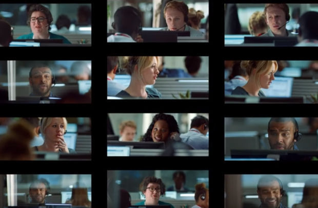 A Call Centre Deals with Movie-Themed Insurance Claims in Direct Line's Film on 4 Sponsorship