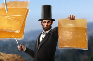 Abe Lincoln is Cheesed Off with America in New Tillamook Ad