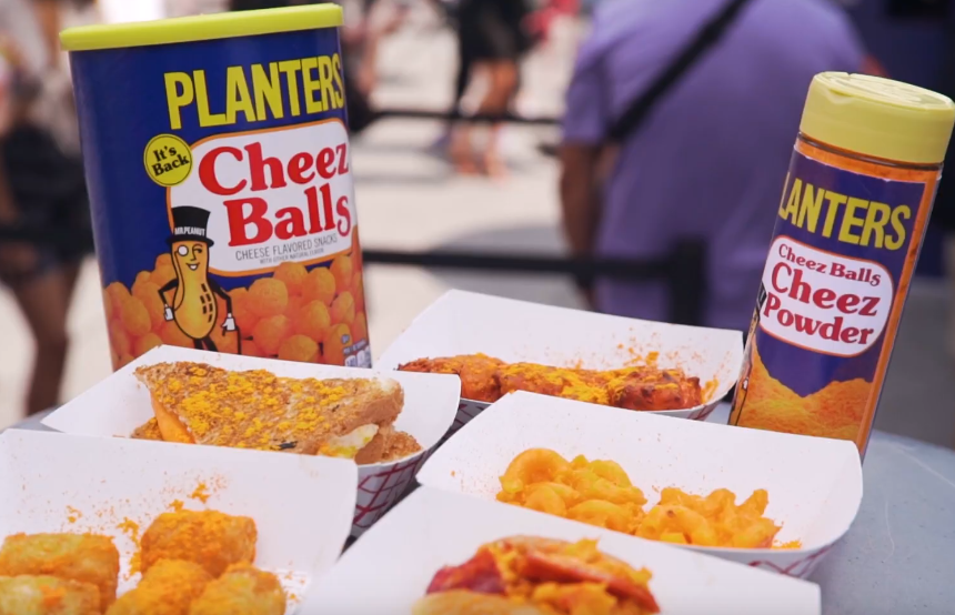 Mr. Peanut Hypes Up New Yorkers with a 'Cheez Balls' Food Truck