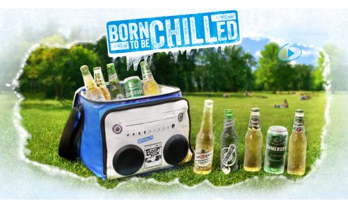 """Carlsberg is """"Born to be Chilled"""" In The Marketing Store's New Campaign"""