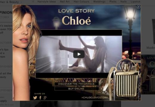 Biborg Tells a New 'Chloé Love Story' with Digital Launch