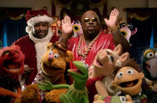 Cee Lo Green Joins the Muppets for Xmas