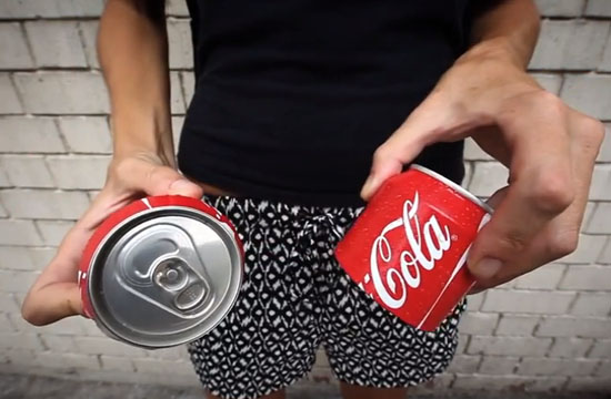 Say Hello to the Coca-Cola Sharing Can