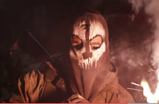 Call of Duty: Ghosts Masked Warrior Teaser
