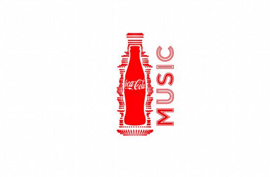 Coca-Cola Music Visual Identity from W+K Amsterdam
