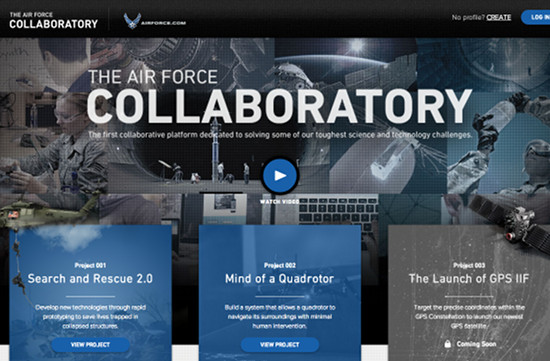 GSD&M & Welikesmall Create 'Air Force Collaboratory'