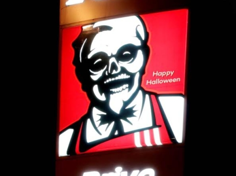 Ogilvy Sydney Gives KFC's Colonel a Frightful Facelift
