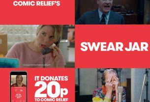 Comic Relief's Swear Jar Wins Four Lions at 2017 Cannes Lions Festival
