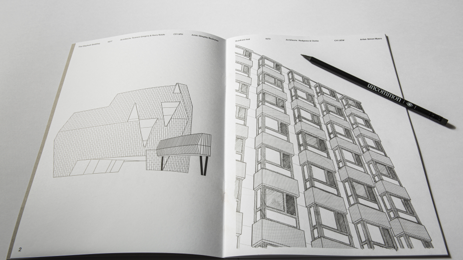 Uncommon's 'Concrete Colouring Book' Paints Coventry as the Next UK City of Culture