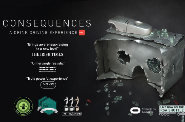 BBDO Dublin's 'Consequences' Scoops Two Silver and One Bronze at Telly Awards