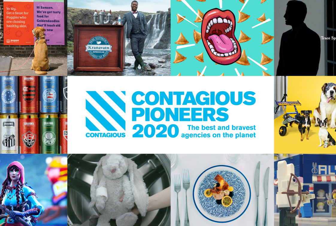 Happiness, an FCB Alliance, Named Among Top 10 Contagious Pioneers 2020