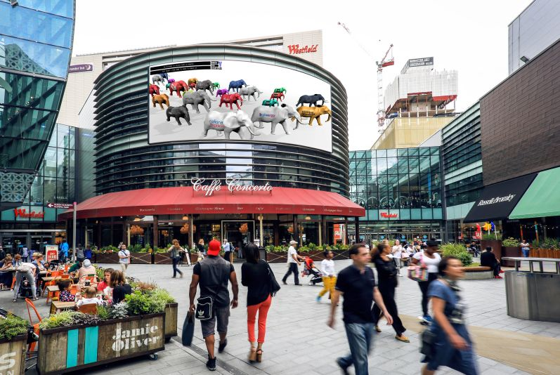 Brands Lead the Herd in March for Giants DOOH Campaign Transcending Global Borders