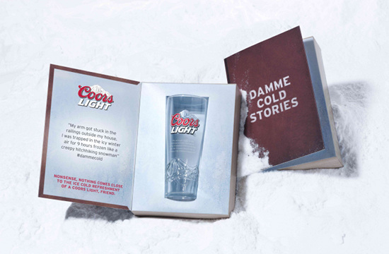 Share Your Damme Cold Stories with Coors Light